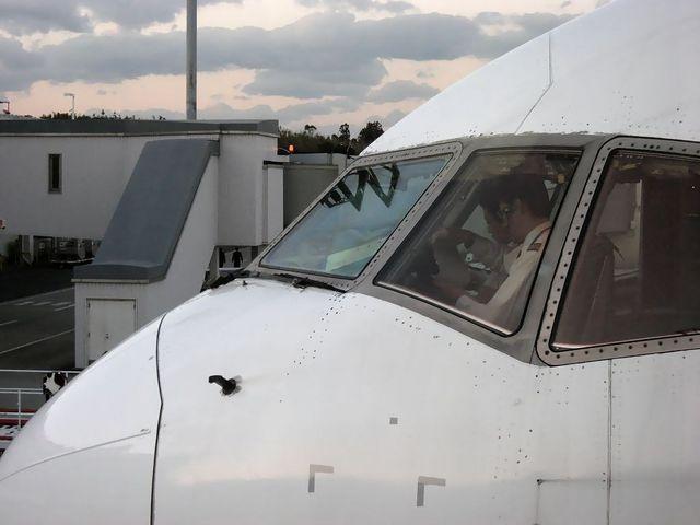Boeing767-300 横顔
