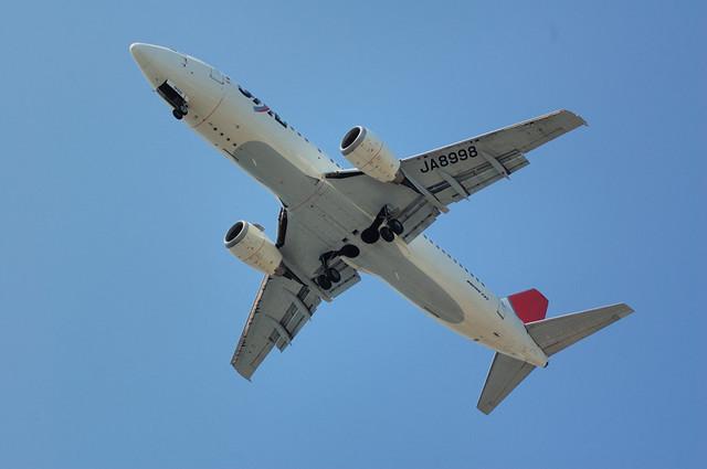 JAL Express B737-400