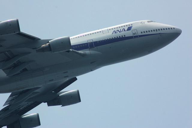 ANA Boeing747-481