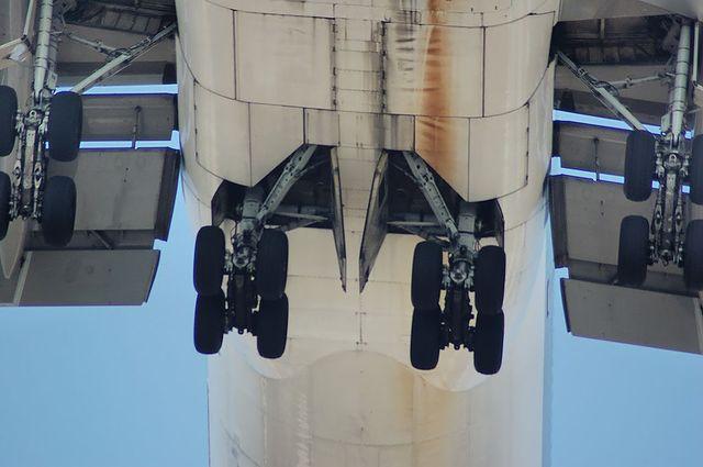 Boeing747-400の脚