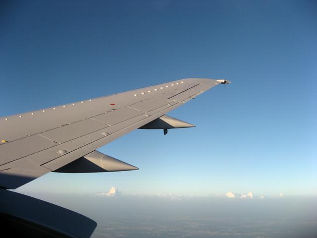 ヒューストンへのフライト