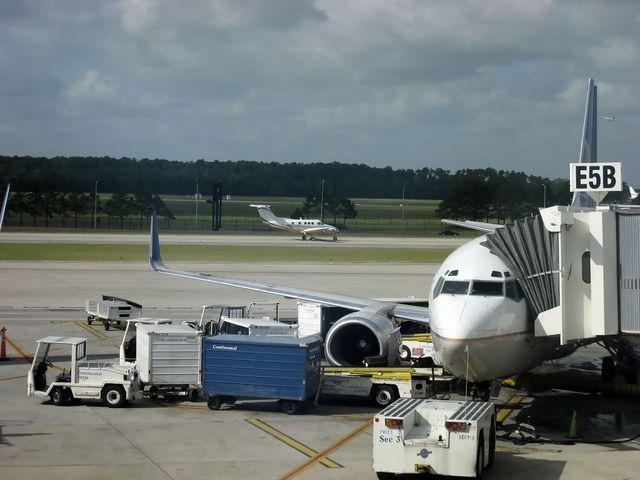 コンチネンタル航空 Boeing737