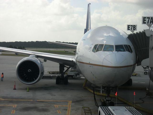 コンチネンタル航空 Boeing777-200ER