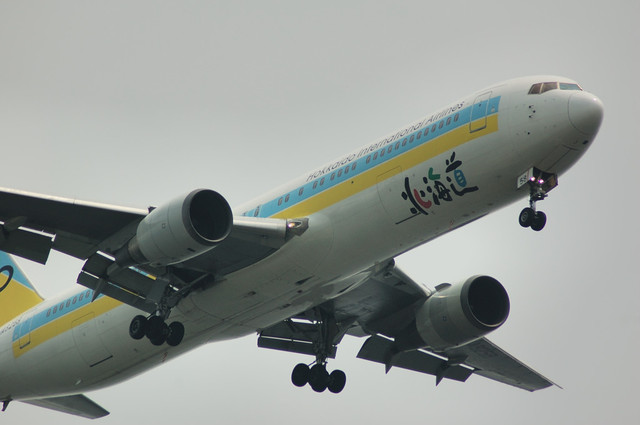 Air Do Boeing 767-381 どアップ