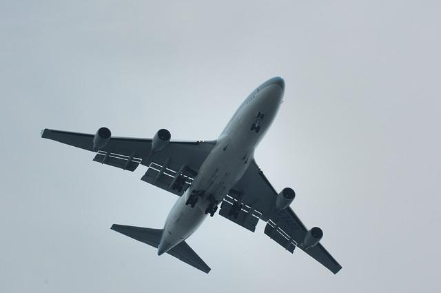 大韓航空 Boeing747-400