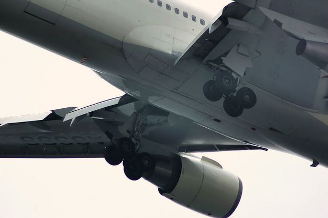 Boeing767-300の主脚