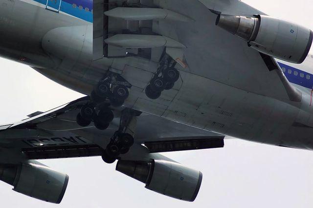 Boeing747-400の主脚