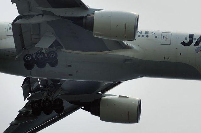 Boeing777-200の主脚