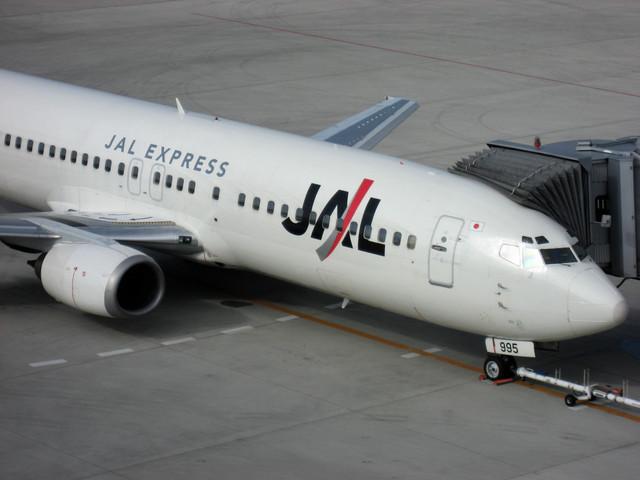 JAL Express Boeing 737-446(JA8995)