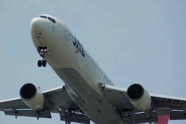 Boeing767のアップ