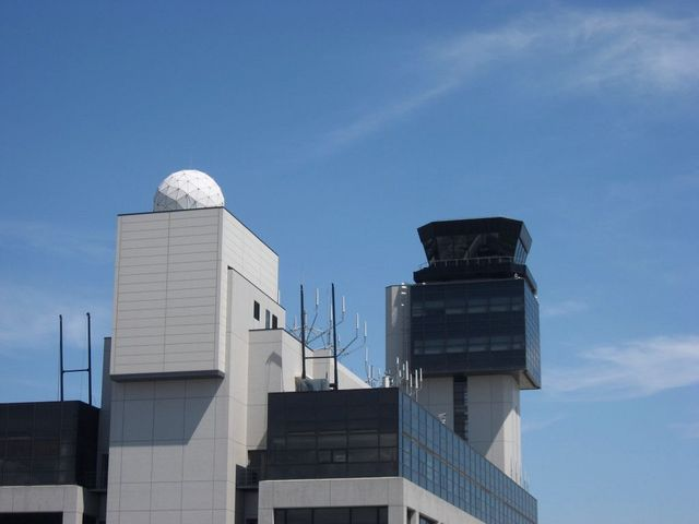 伊丹空港管制塔