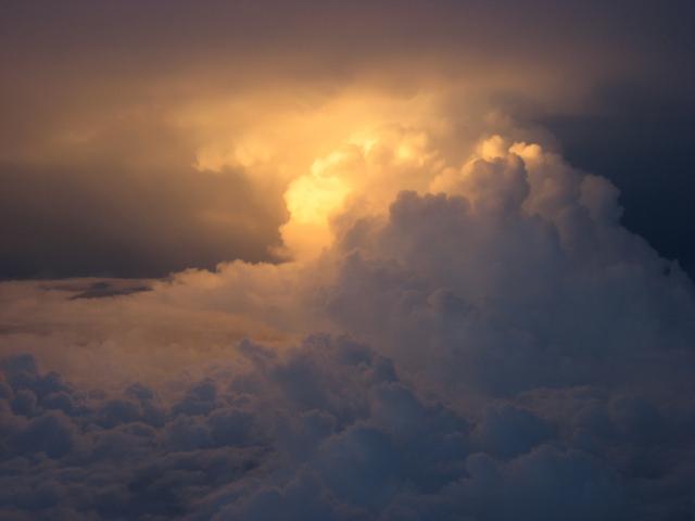 末期の積乱雲