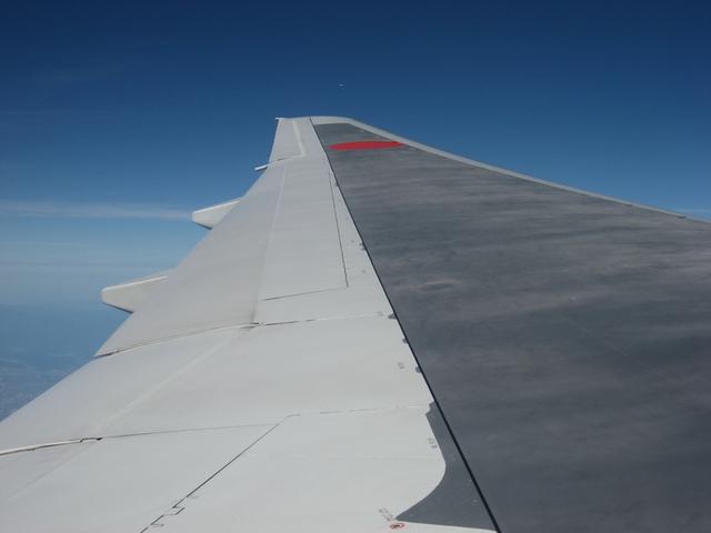 Boeing777-200の翼