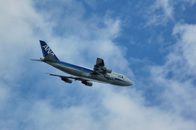 全日空Boeing747-400