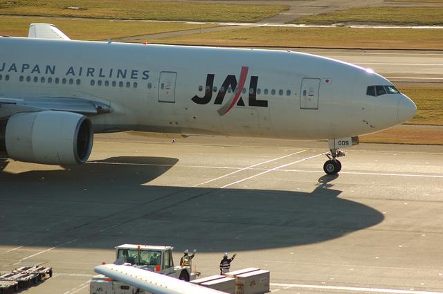 旅立ち JAL Boeing777-200