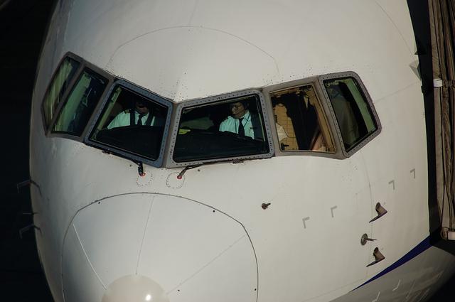 キャプテンとコ・パイロット