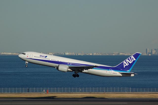 Boeing767 Takeoff