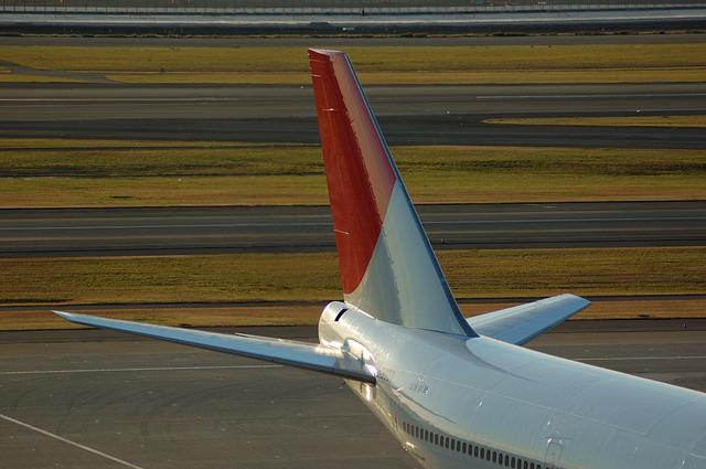Boeing747-400 垂直尾翼