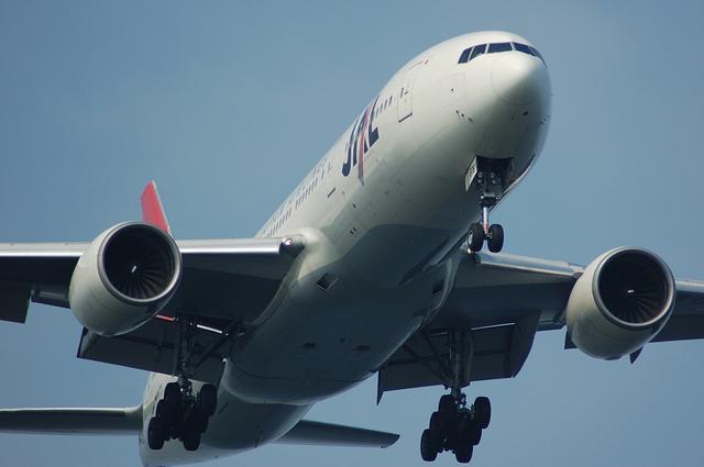 JAL Boeing777 Landing