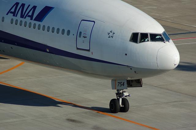 ANA Boeing777 機首
