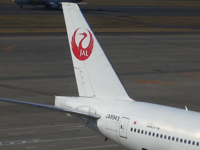 JALの鶴丸ロゴ