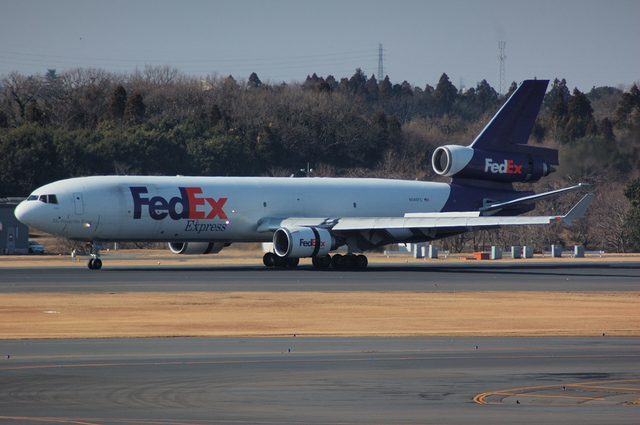 FedEx MD-11 Landing