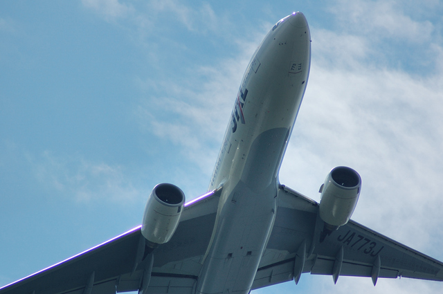 JAL Boeing777 上昇