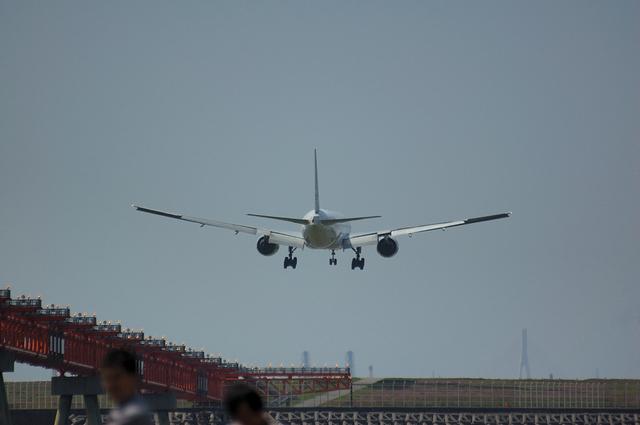 ANA Boeing777 着陸直前