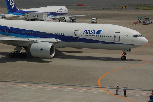 ANA Boeing777 お見送り