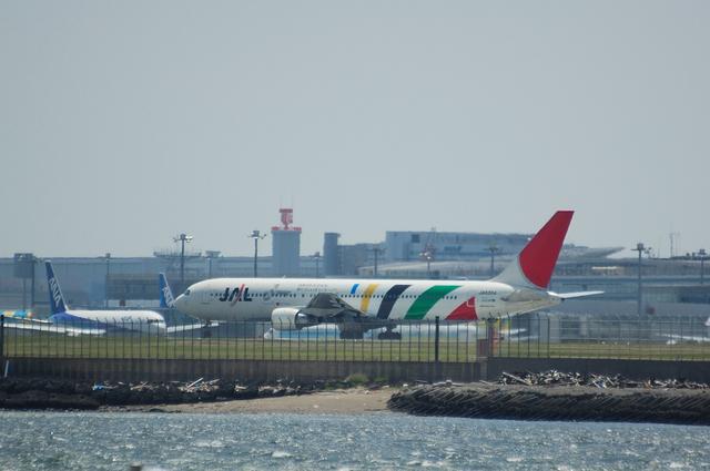 オリンピック招致塗装のJAL Boeing767-300