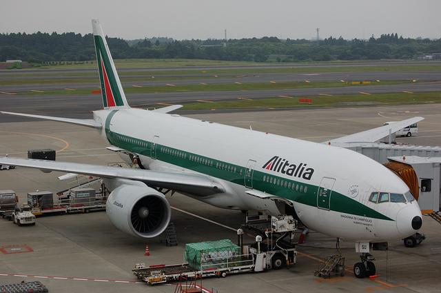 アリタリア航空 Boeing777-200 1