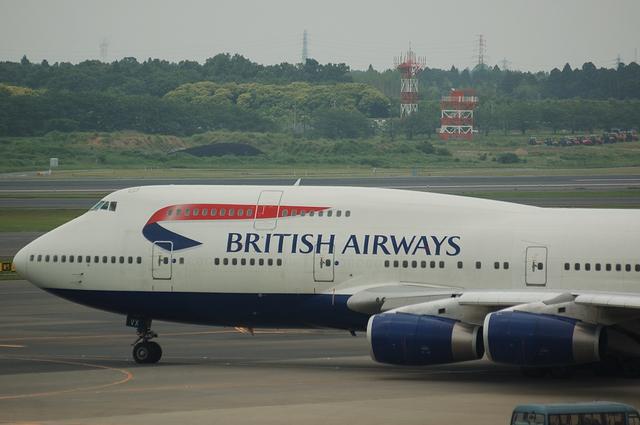 ブリティッシュ航空 Boeing747-400 1