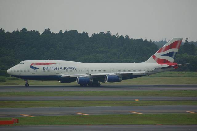ブリティッシュ航空 Boeing747-400 3