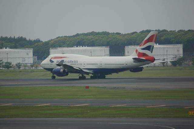 ブリティッシュ航空 Boeing747-400 4