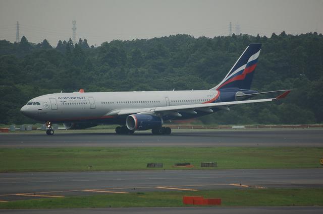 Aeroflot Airbus A330-200 離陸滑走