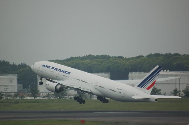 エールフランス Boeing777-200ER 3