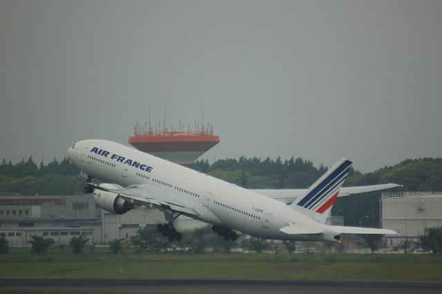 エールフランス Boeing777-200ER 4