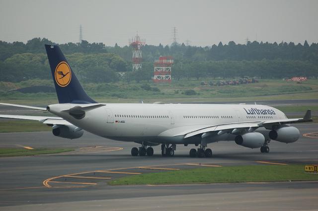 Lufthansa Airbus A340-313X  3