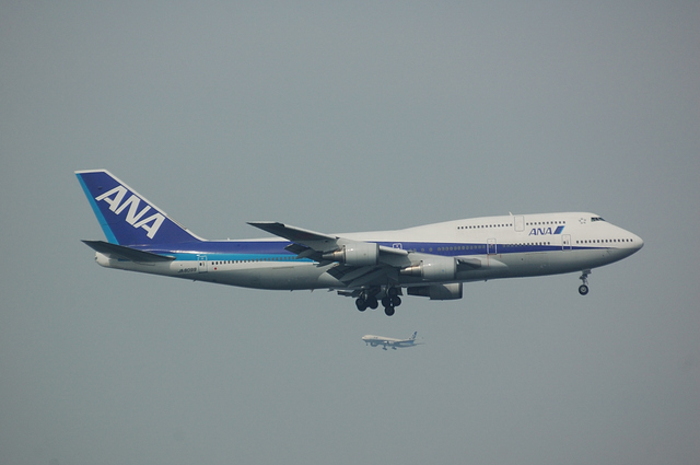 ANA Boeing747-400D