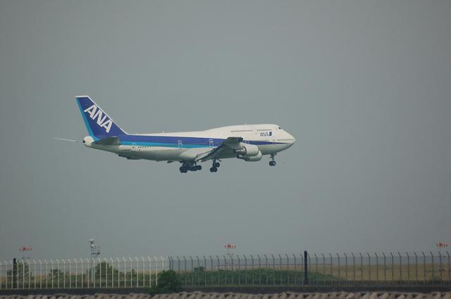 ANA Boeing747-400D final