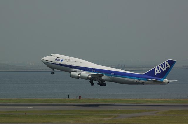 Boeing747-400D 離陸