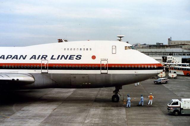 日本航空 Boeing747SR