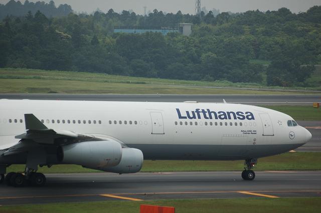 Lufthansa Airbus A340-313X  2