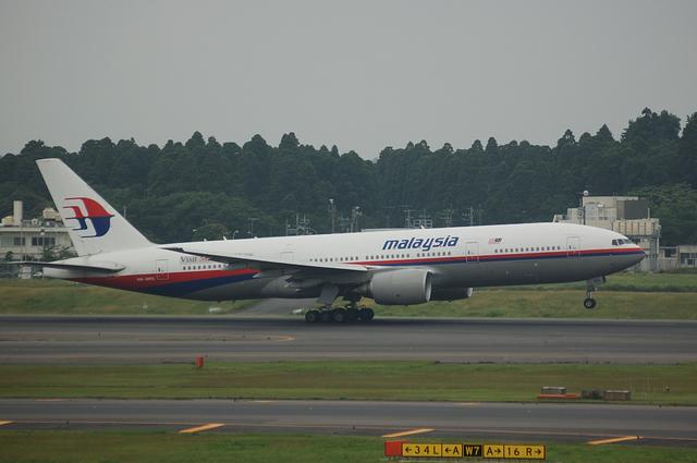 マレーシア航空 Boeing777-200 1
