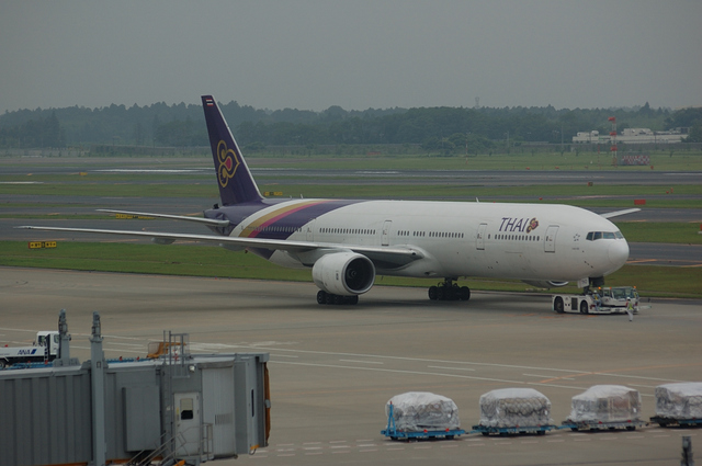タイ国際航空 Boeing777-300 1