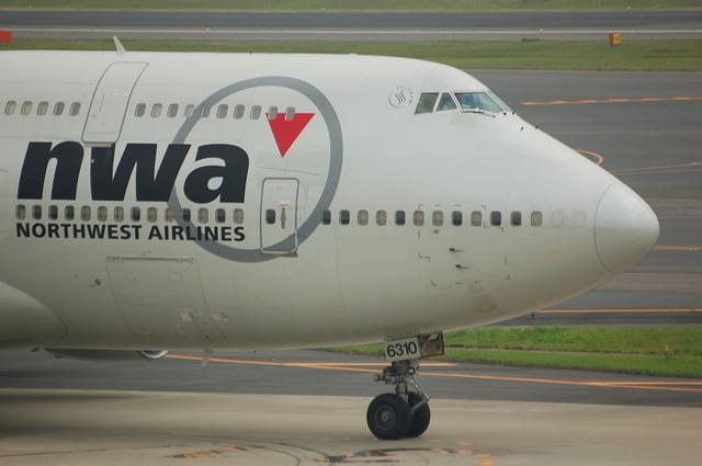 ノースウェスト Boeing747-400 機首