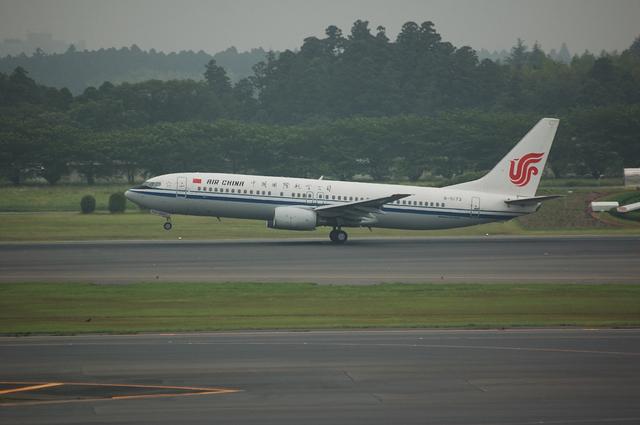中国国際航空公司 Boeing737-800 2