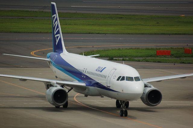 到着したA320-200
