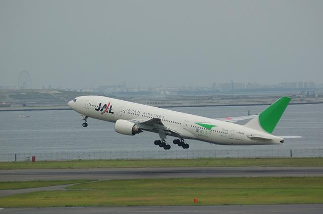 Boeing777-200 空のエコ
