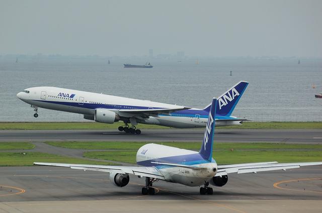 Boeing777とBoeing767